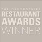 Oxfordshire Restaurant Awards Winner