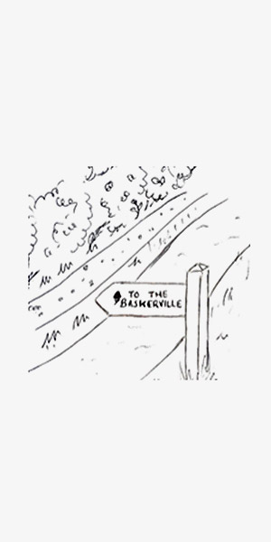 the Baskerville illustration